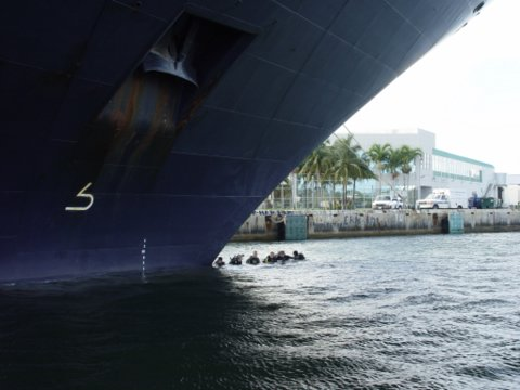 special marine operations, Special Marine Operations – Hull Search Diving
