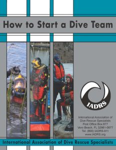HSADT_Cover on how to form a dive team.